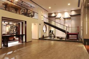300平米中式风格精致别墅室内装修效果图