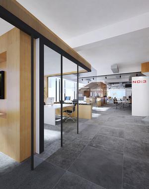 76平米现代风格办公室装修效果图欣赏