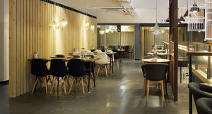 68平米现代风格餐厅装修效果图