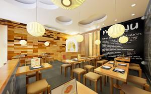 48平米宜家风格小型餐厅装修效果图