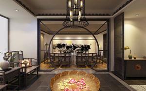 中式风格雅致茶楼装修效果图赏析