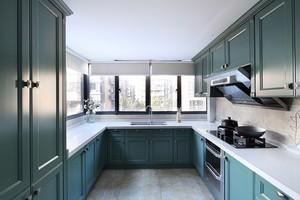 地中海风格精致蓝色整体厨房装修效果图
