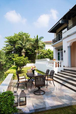 混搭风格精致别墅花园设计装修效果图赏析