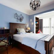 美式风格简约卧室装修效果图赏析
