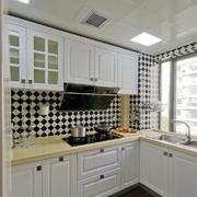 欧式风格精致整体厨房装修效果图赏析