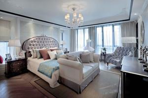 欧式风格别墅室内精美主卧装修效果图赏析