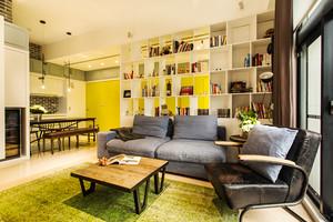 67平米清新风格简约一居室装修效果图赏析
