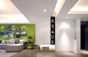89平米现代简约风格三室两厅室内装修效果图赏析