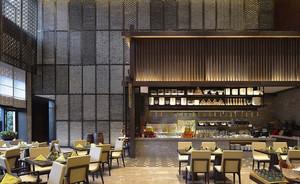 80平米后现代风格精致餐厅装修效果图赏析