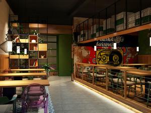 87平米混搭风格精致餐厅装修效果图赏析