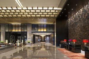 中式风格低调奢华酒店大堂设计装修效果图