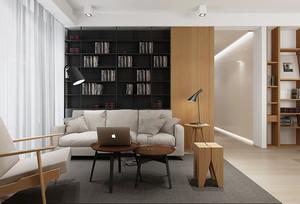 62平米现代风格单身公寓装修效果图赏析