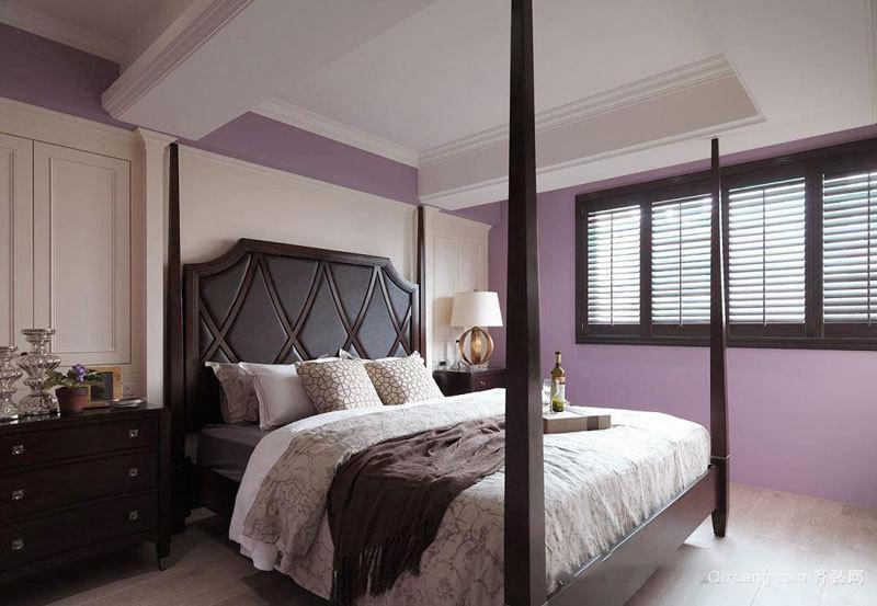 混搭风格精美卧室装修效果图