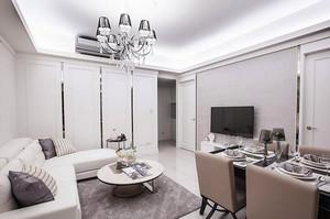 76平米简欧风格精美公寓装修效果图赏析