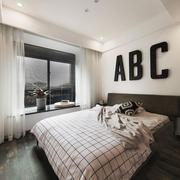 现代简约风格两居室卧室装修效果图