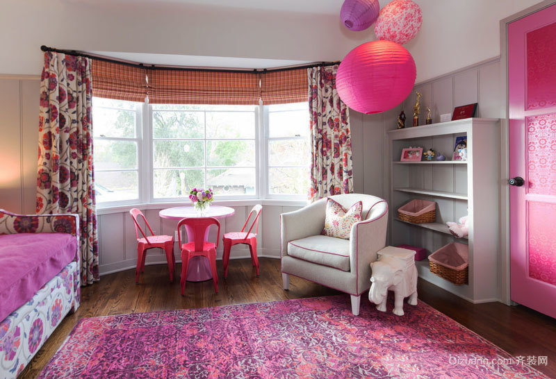 欧式风格精美时尚儿童房装修效果图鉴赏