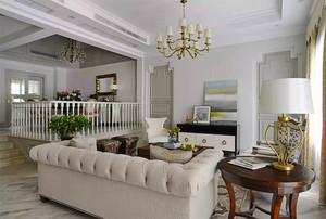 280平米欧式风格精致别墅室内装修效果图