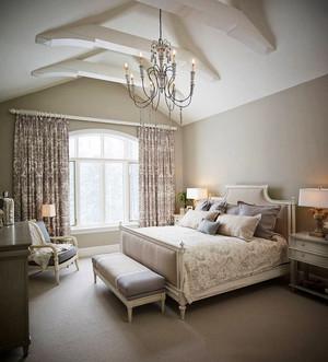 欧式风格别墅室内精美卧室装修效果图