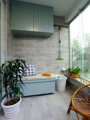 清新风格时尚清新阳台设计装修效果图赏析