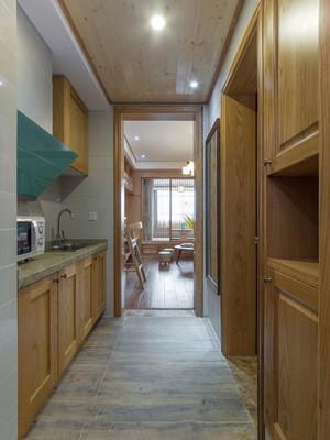 58平米经典日式风格单身公寓装修效果图