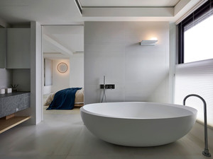 现代风格精致大户型卫生间装修效果图赏析