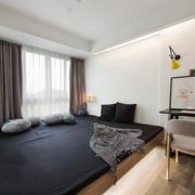 10平米现代风格榻榻米卧室装修效果图赏析