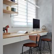 北欧风格简约小书房设计装修实景图欣赏