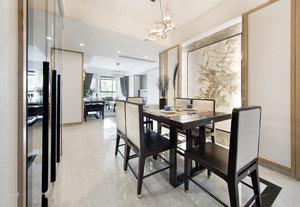 新中式风格大户型精致擦餐厅设计装修效果图赏析