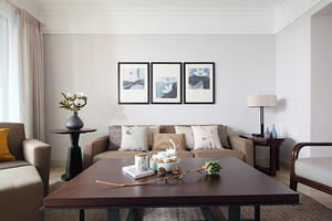 98平米宜家风格简约三室两厅室内装修效果图