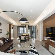 宜家风格简约两居室客厅装修效果图赏析
