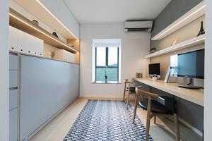 10平米宜家风格书房设计装修效果图欣赏