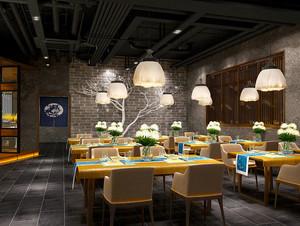 新中式风格精美中餐厅装修效果图赏析