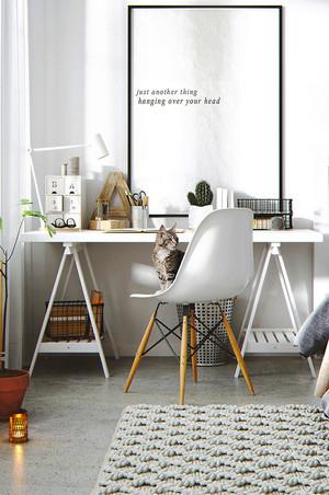 69平米北欧风格简约一居室室内装修效果图赏析