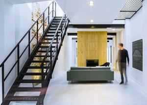 160平米现代风格简约别墅室内装修效果图