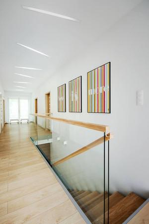 174平米现代简约风格复式楼室内装修效果图赏析