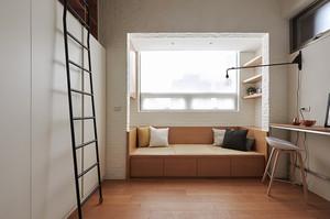 66平米简约风格温馨loft装修效果图赏析