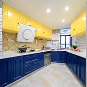 美式风格时尚精致整体厨房装修效果图赏析