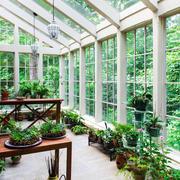 欧式风格别墅室内阳台花园装修效果图赏析