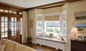 欧式风格别墅室内精美飘窗设计装修效果图赏析