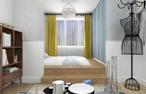 清新风格简约时尚小户型室内装修效果图鉴赏