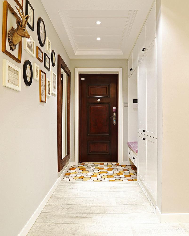 100平米清新美式风格室内装修效果图案例