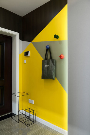 现代风格时尚创意玄关设计装修效果图