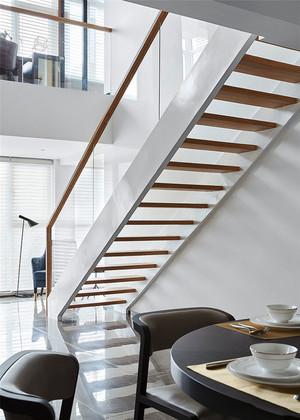 现代风格简约别墅楼梯设计装修效果图赏析