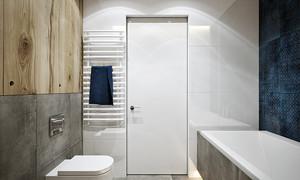 64平米现代风格精致一居室室内装修效果图赏析