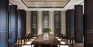 中式风格典雅精致茶楼装修效果图赏析