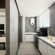现代风格简约厨房隔断设计装修效果图赏析