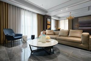 120平米后现代风格简约室内装修效果图赏析