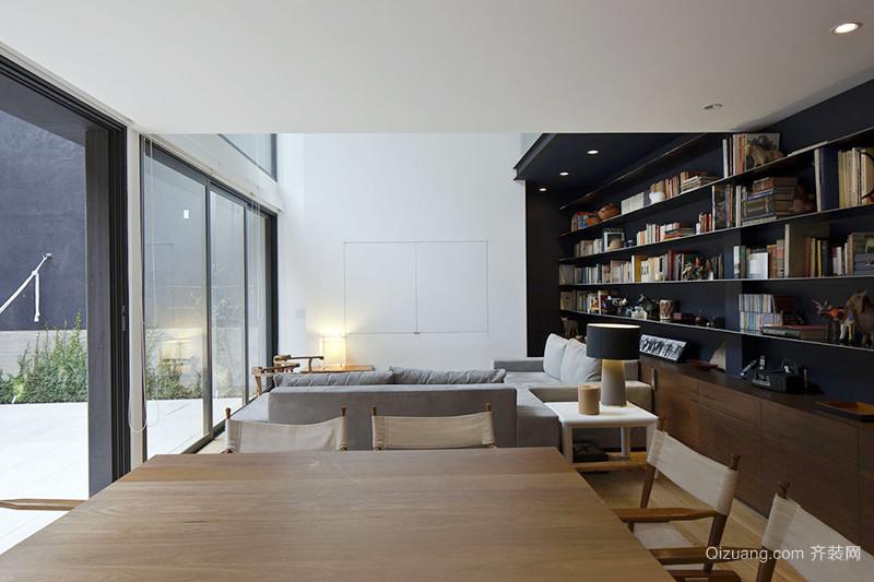 190平米后现代风格别墅室内装修效果图赏析