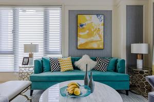 100平米简欧风格精美室内装修效果图欣赏