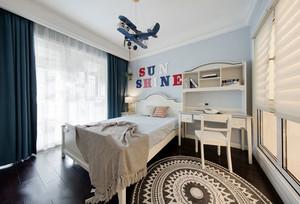 简欧风格温馨白色儿童房装修效果图赏析